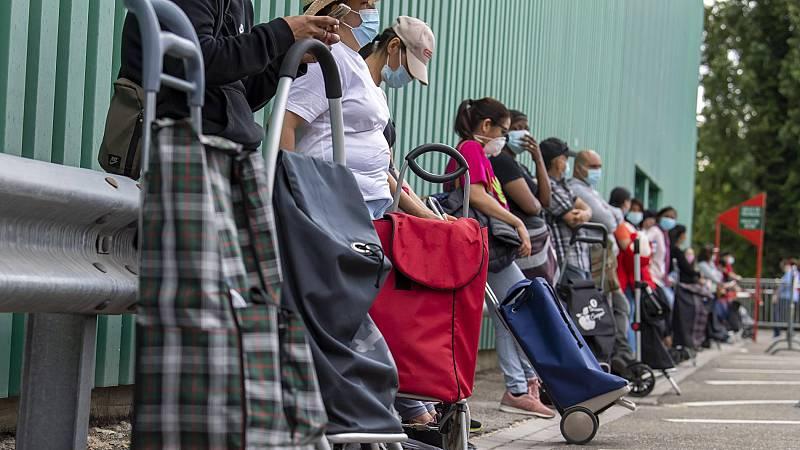 Las solicitudes del ingreso mínimo vital aumentan a razón de 10.000 por día