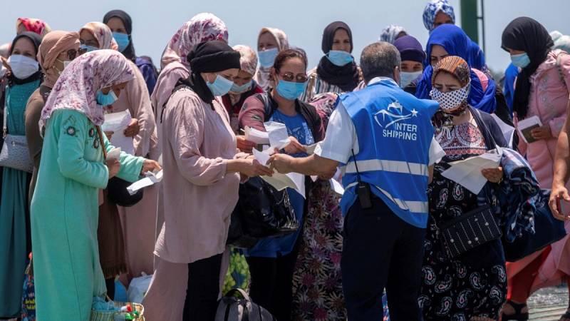 Más de mil temporeras regresan a Marruecos cuatro meses después del cierre de fronteras con España