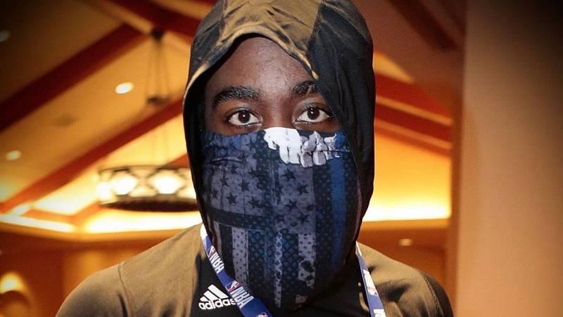 Vídeo: James Harden defiende que la máscara utilizada carece de significado político
