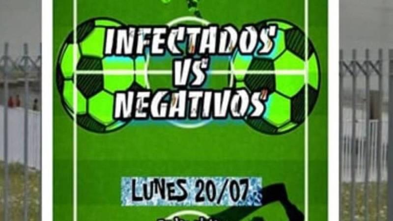 Vídeo: Denunciado el organizador de un partido de fútbol infectados-no infectados