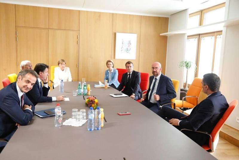 Cumbre europea poscoronavirus: tres días y pocos avances
