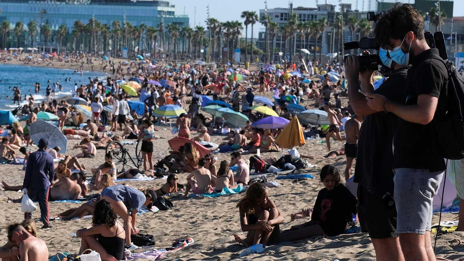 Preocupación en Barcelona por la expansión de los brotes de coronavirus ante el incumplimiento de las restricciones