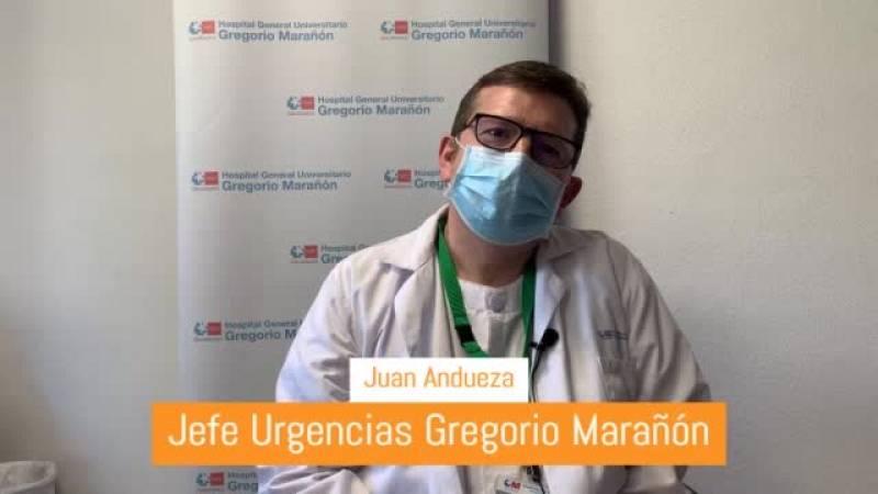 Entrevista a Juan Andueza, jefe de urgencias del Hospital Gregorio Marañón de Madrid