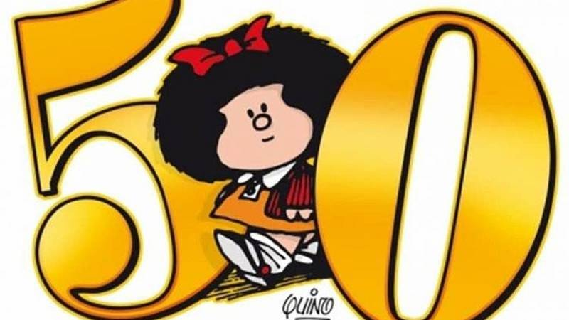Se cumplen 50 años de la llegada a España de Mafalda