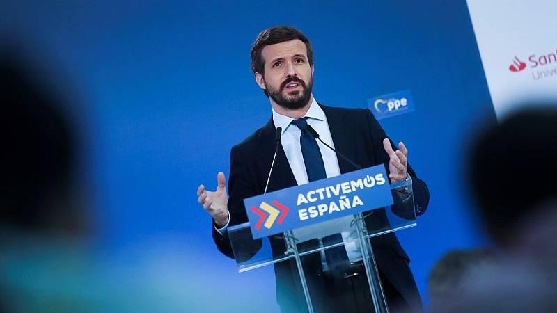 La oposición, satisfecha por el acuerdo para el fondo de reconstrucción europeo