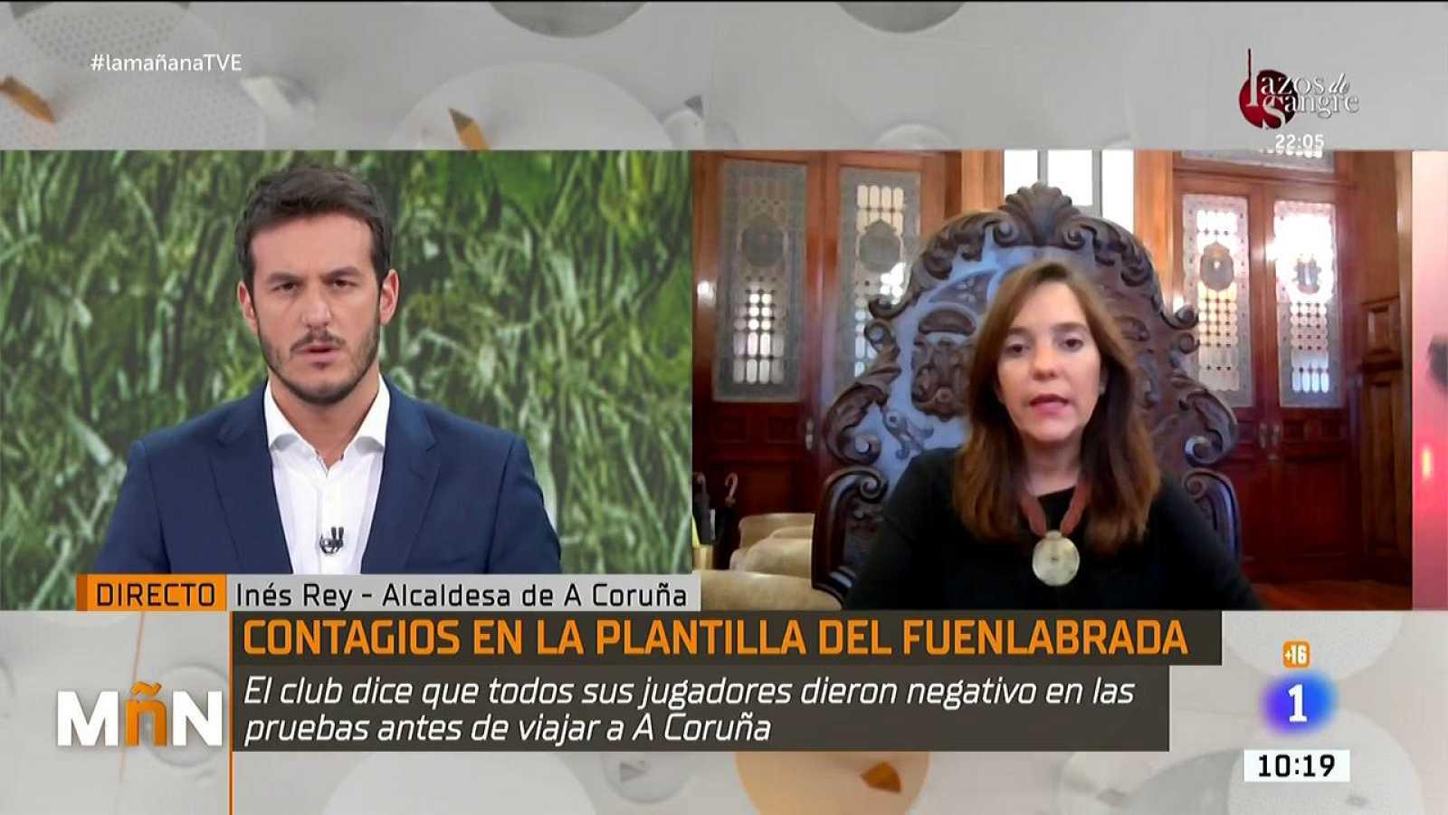 La Mañana -  Entrevista a Inés Rey, alcaldesa de A Coruña: ''mi obligación es proteger los derechos e intereses de los coruñeses y velar por la salud¿¿