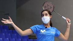 """Carolina Marín, """"tranquila"""" a la espera de retomar la competición"""