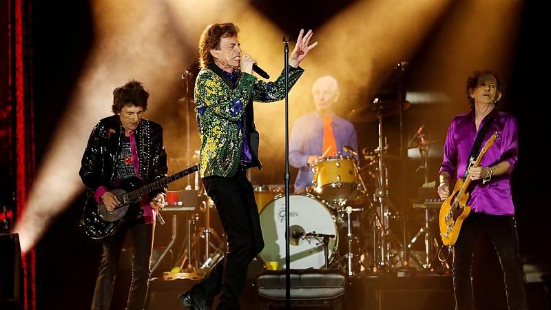 'Scarlet', un tema que los Rolling Stones grabaron en 1974 y que había permanecido inédito hasta ahora