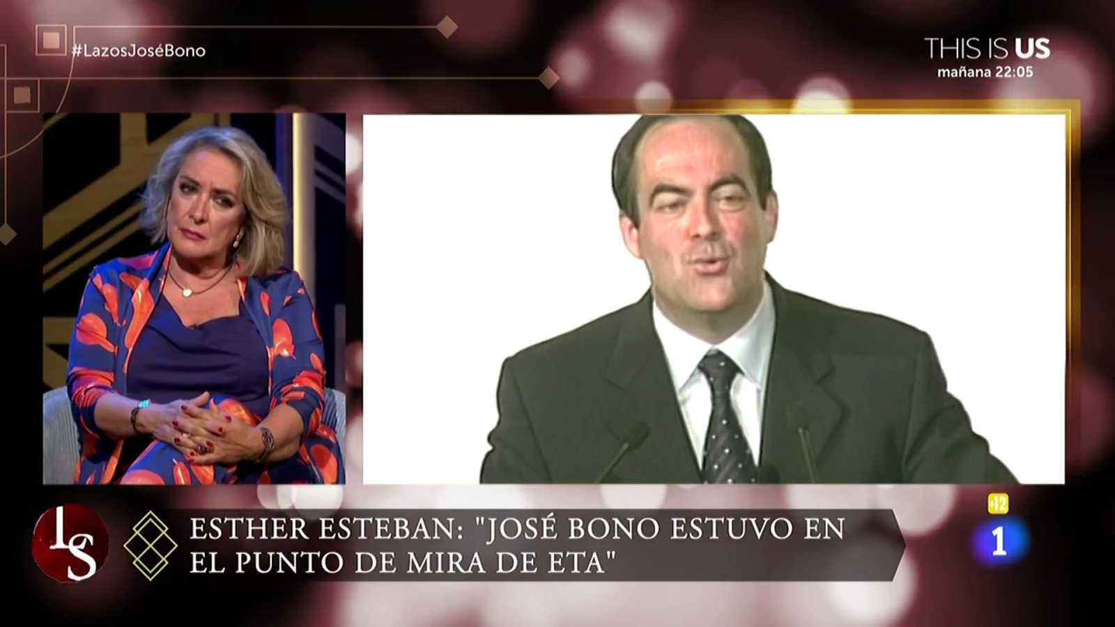 "Esther Esteban sobre José Bono: ""Su familia fue objetivo de ETA"""
