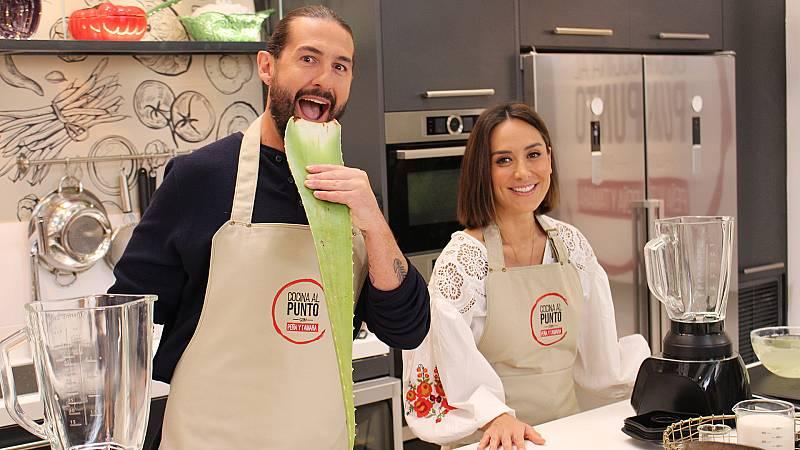 Cocina al punto con Peña y Tamara - El aloe - ver ahora