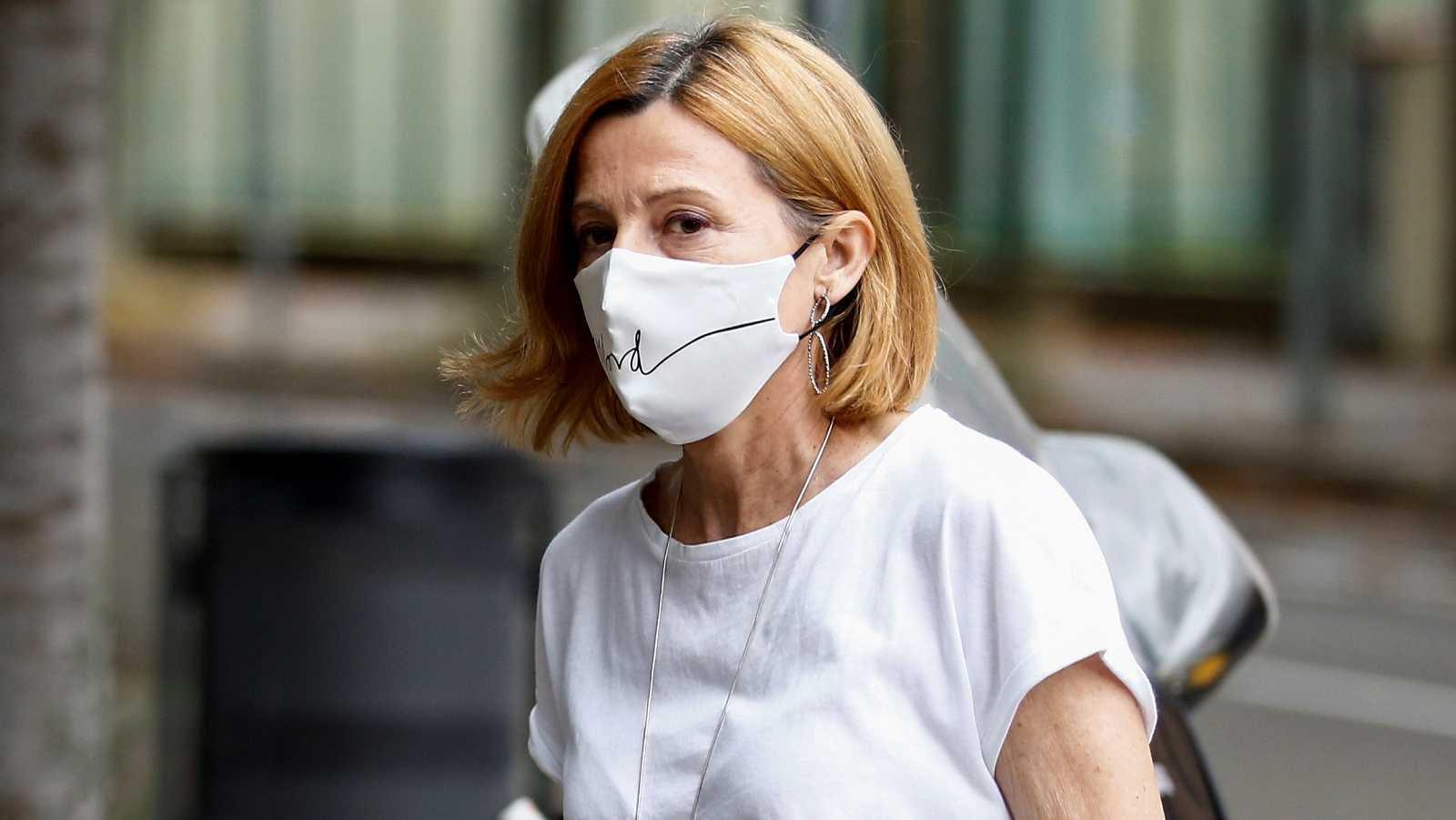 El tribunal del 'procés' revoca el régimen de semilibertad de Carmen Forcadell