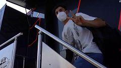 Marc Márquez vuelve a Jerez dos días después de su operación