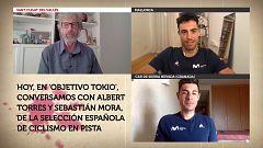 Objetivo Tokio - Programa 98: Albert Torres y Sebastián Mora, pistards de la selección española de ciclismo en pista