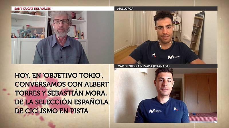 Objetivo Tokio - Programa 98: Albert Torres y Sebastián Mora, pistards de la selección española de ciclismo en pista - ver ahora