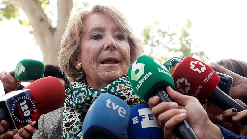 Caso Púnica: Varios testigos incriminan a Esperanza Aguirre