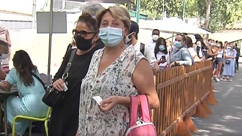 Pruebas de coronavirus gratuitas a la orilla del Sena