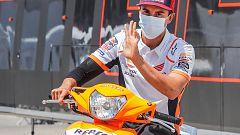 """Márquez dice que aún tiene inflamación, pero que está """"superando"""" la lesión"""