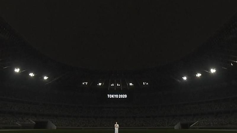 El silencio, protagonista en la ceremonia de aplazamiento de Tokio 2020