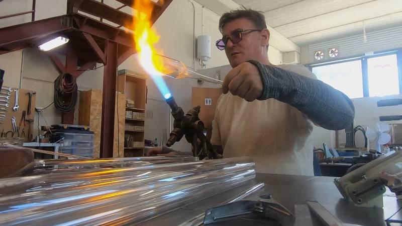 Aquí la Tierra - Conocemos la herencia viva de los sopladores de vidrio científicos