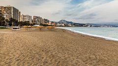 España Directo - Limpieza de las playas frente al Covid-19
