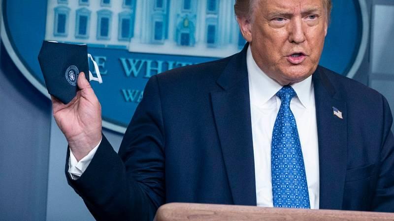 Trump cambia su discurso sobre el coronavirus ante el avance descontrolado de la pandemia en EE.UU.