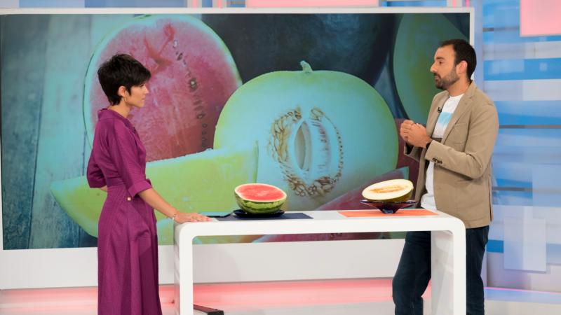 ¿Es seguro comprar las sandías y los melones cortados?