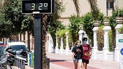 Temperaturas altas en la mitad sur peninsular y en el valle del Ebro