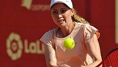 Cristina Bucsa bate en semifinales de la Liga MAPFRE a Eva Guerrero (7-6 (1), 4-6, 3-0)