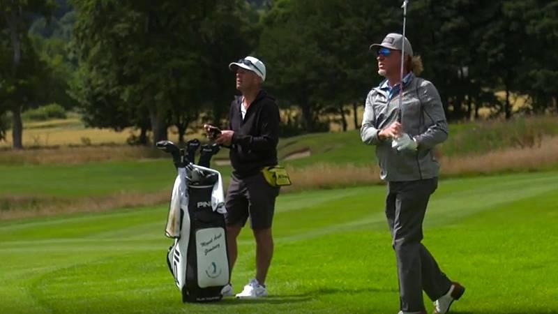 Miguel Ángel Jiménez, el más veterano del Másters Británico de golf