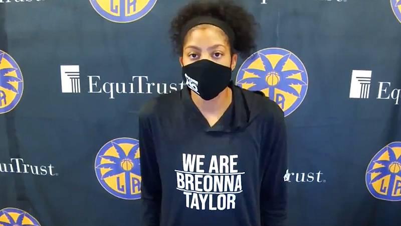 La WNBA se reivindica por Breonna Taylor