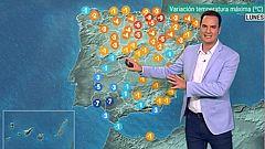 La semana arranca con mucho calor en interior peninsular, Baleares y Canarias