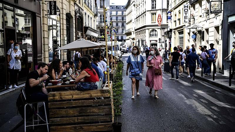 Inquietud en Francia ante el aumento de la tasa de contagios de coronavirus, con más de 1.100 casos cada día