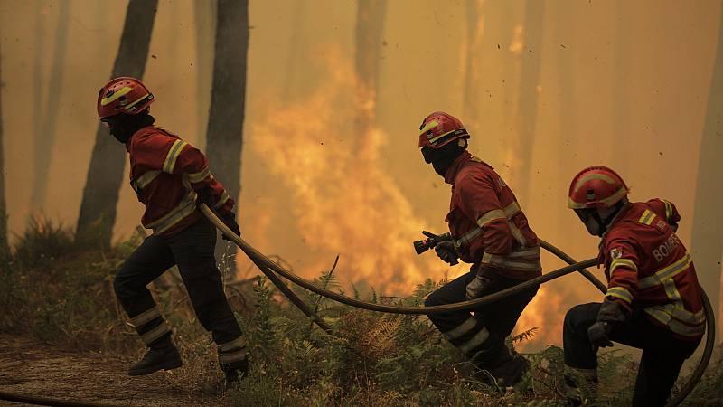 Controlado el incendio de Oleiros, el peor en Portugal en lo que va de verano