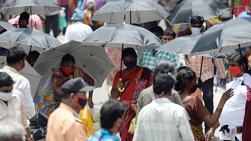Los brotes se multiplican en Asia, mientras India registra casi 50.000 casos en un solo día