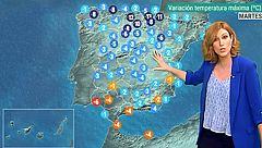 Este martes aumentan las temperaturas en Andalucía y se prevén lluvias en Galicia y el Cantábrico