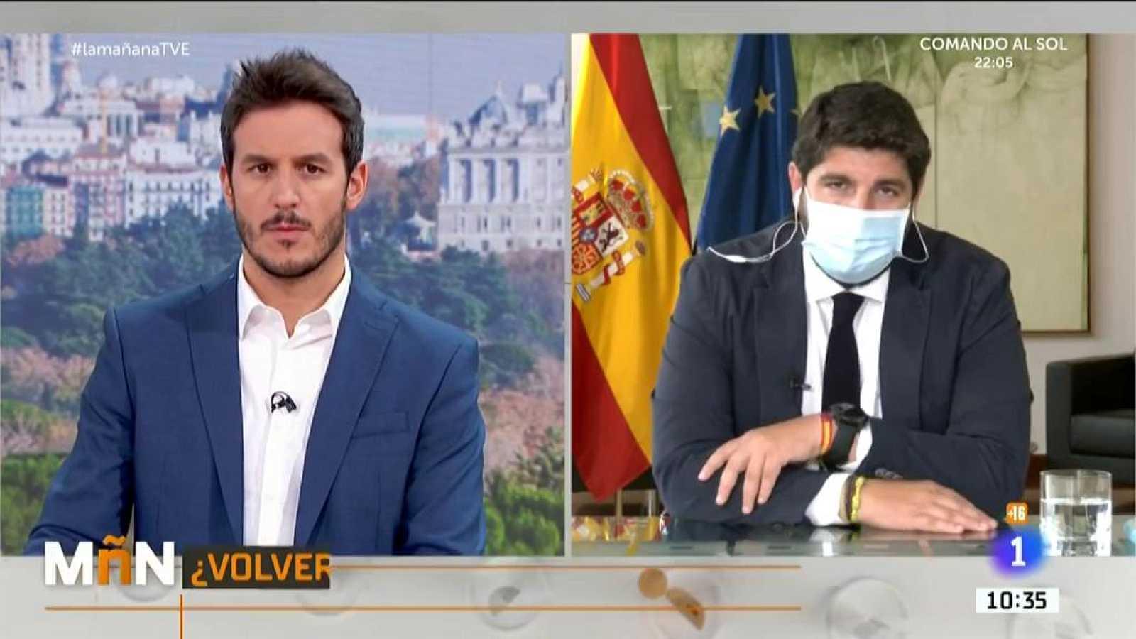 Entrevista a Fernando López Miras, presidente de la Región de Murcia