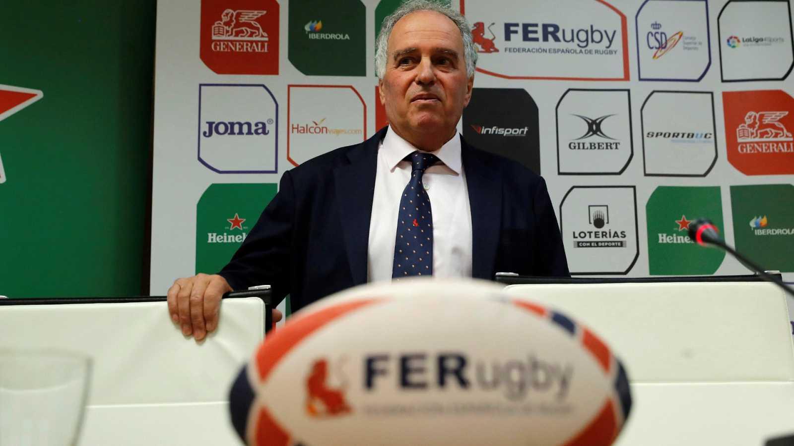 Alfonso Feijoo, reelegido presidente de la Federación Española de Rugby