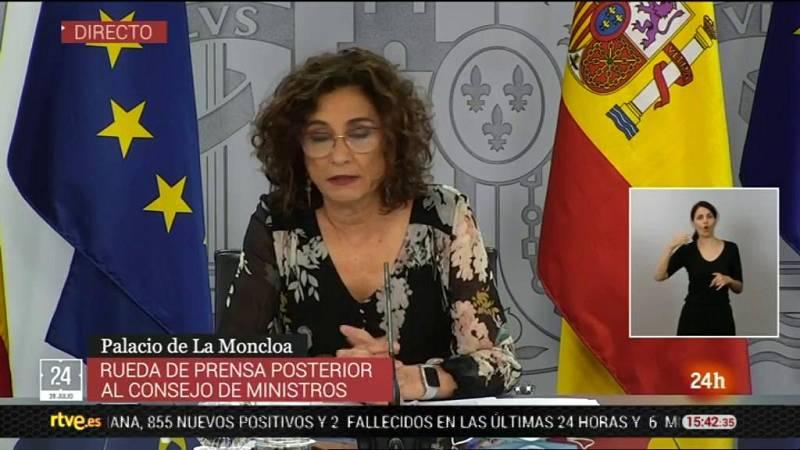 "Montero: ""No veo motivos para que ningún presidente no acuda a la reunión presencial de presidentes autonómicos"""