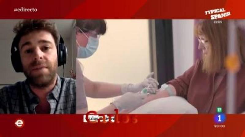 Carlos Estévez, subinvestigador de la vacuna de Oxford