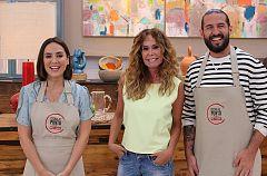 La actriz Lara Dibildos en 'Cocina al Punto'