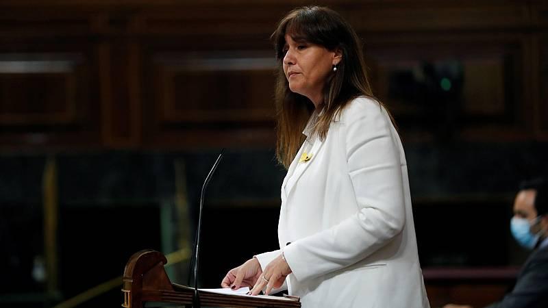 """Borrás (JxCat) pide a Sánchez no hacer un uso """"centralista"""" de los fondos europeos y le anima a escuchar a los gobiernos autonómicos y los ayuntamientos"""