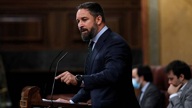 Abascal anuncia una moción de censura contra Sánchez en septiembre