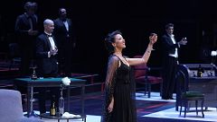 La soprano Lisette Oropesa se convirte en la primera mujer que hace un bis en el Teatro Real