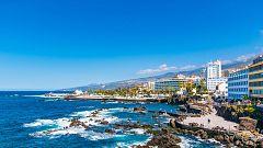 Intervalos de viento fuerte en Canarias