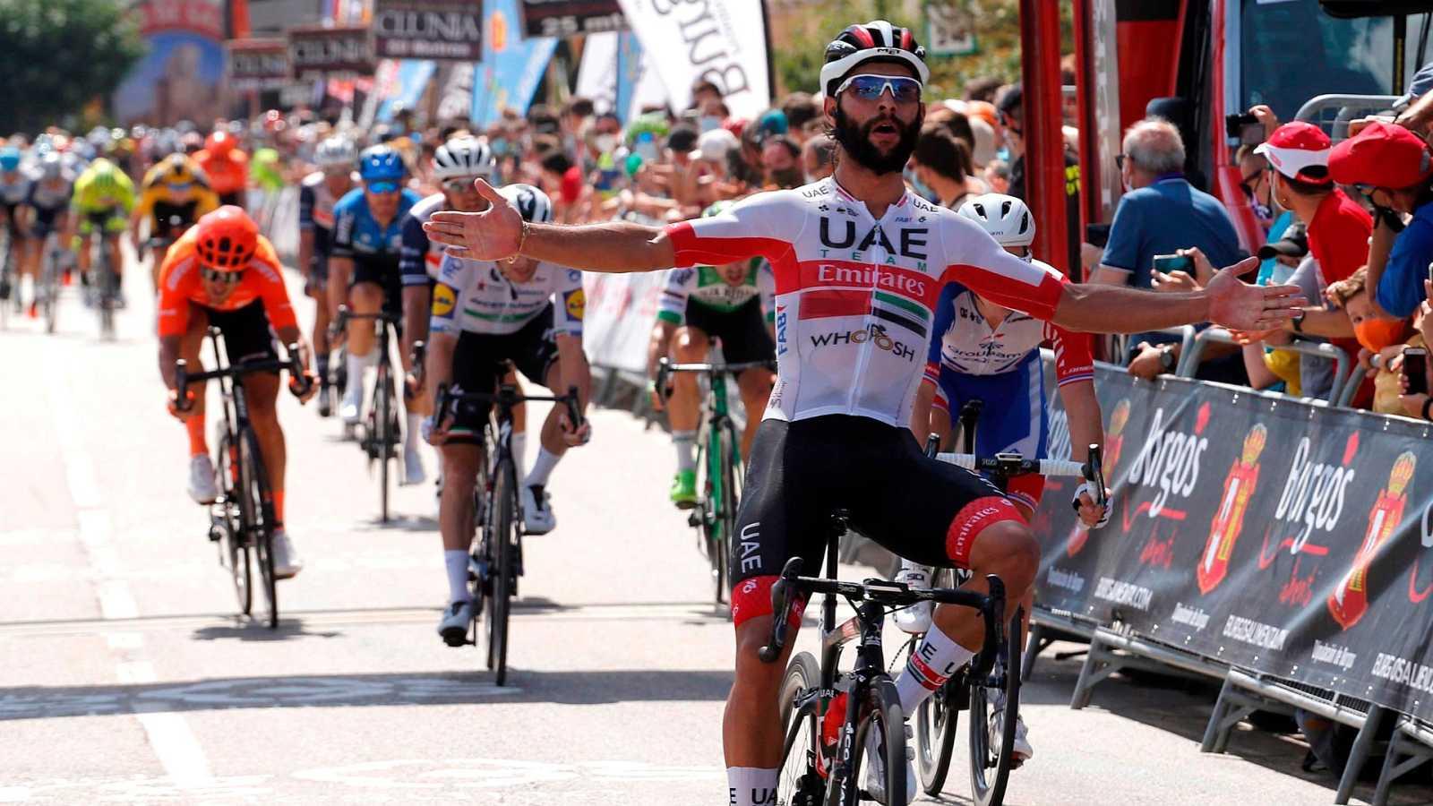 Fernando Gaviria gana 'al sprint' en Villadiego