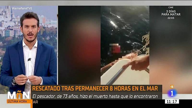 El náufrago de Altafulla: sobrevive haciéndose el muerto durante más de 8 horas a la deriva