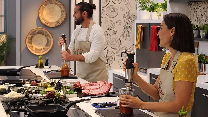 Cocina al punto con Peña y Tamara - El pimiento de Padrón - ver ahora