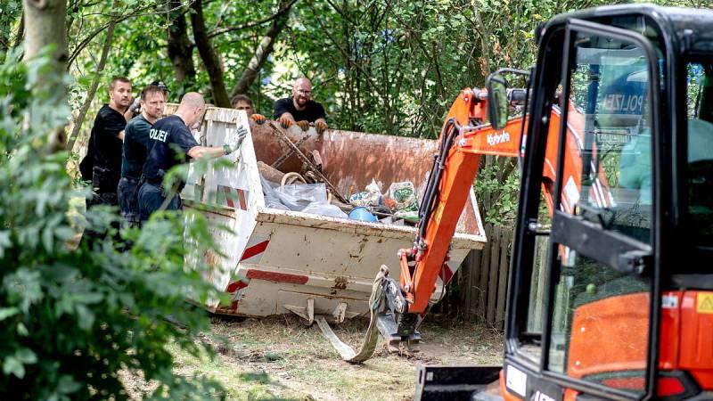 La policía alemana termina de registrar una finca de Hannover en la búsqueda de Madeleine McCann