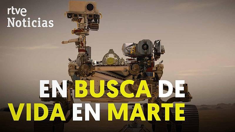 Así son 'Perseverance' e 'Ingenuity', los nuevos exploradores de Marte