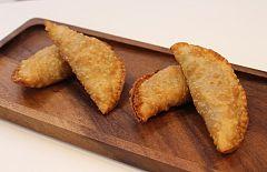 Empanadillas con huevo y pulpo